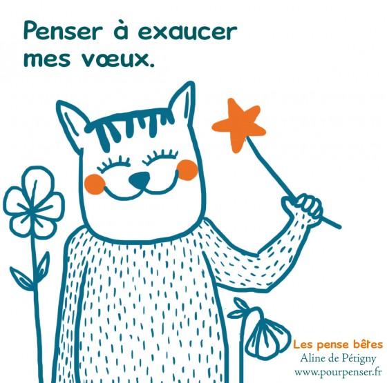 pense bête voeux - A. de Pétigny