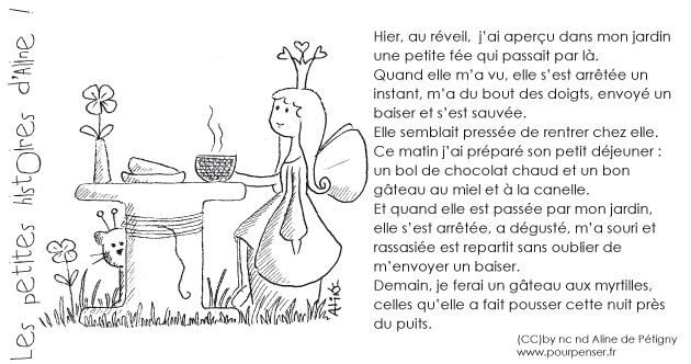Aline de Pétigny - La petite fée du jardin